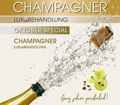 Kosmetikinstitut Luxuspur Troisdorf Champagne & Wine Behandlung